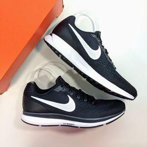 Nike Air Zoom Pegasus 34 Black Grey Women's 12